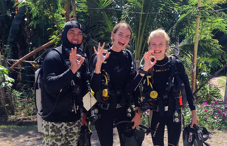 Divemaster Internship course in the Philippines